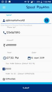 Spoof Paytm – Download Paytm Spoof apk App 1