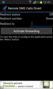 SMS Call Forward / Divert 2